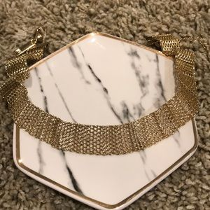iNC Brand Gold Choker Necklace